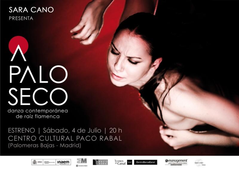 Estreno de A Palo Seco de Sara Cano en el Teatro Paco Rabal